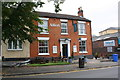 SK2104 : The Albert public house, Albert Road by Roger Templeman