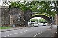 SK2103 : Railway bridge over Glascote Road (B5000) by Roger Templeman