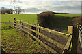SS5024 : Fence, gates and hedge by Derek Harper