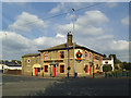 SE2228 : The Railway Hotel, Drighlington by Stephen Craven
