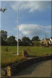 SE1926 : Drub village flagpole by Stephen Craven
