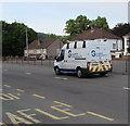 ST3089 : Glanmor Developments van, Malpas Road, Newport by Jaggery