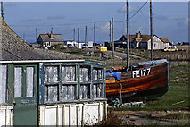 TR0916 : Dungeness Road, Dungeness by Stephen McKay