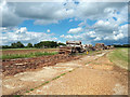SP1703 : WW2 runway, former RAF Southrop by Vieve Forward