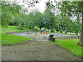 SE2632 : Western Flatts Cliff Park: playground by Stephen Craven