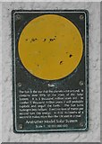 NO5603 : Anstruther Model Solar System: Sun by Richard Sutcliffe