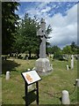SX9392 : Exeter Theatre Fire Memorial, Higher Cemetery by David Smith