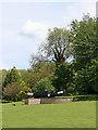SJ9420 : Landscaped area by Stafford Boat Club by Roger  Kidd