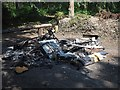 SK8499 : Fly tipping in Laughton Wood by Graham Hogg
