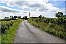 H5366 : A bend along Dervaghroy Road by Kenneth  Allen