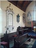 SO5928 : Monuments inside St. Mary's Church (Chancel | Foy) by Fabian Musto