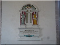 SO5928 : Monument inside St. Mary's Church (Nave | Foy) by Fabian Musto