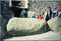 O0072 : Entrance to Newgrange Tomb, Co Meath by Stanley Howe