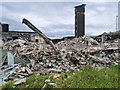 SD8011 : Fire Station Rubble June 2020 by David Dixon