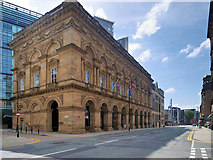 SJ8397 : Peter Street, The Free Trade Hall by David Dixon