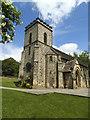 SE2849 : St John the Evangelist, North Rigton: tower by Stephen Craven