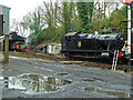 SX0766 : Bodmin & Wenford Railway - in the yard at Bodmin General Station by Chris Allen