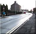 ST3090 : Early morning dog walker, Pillmawr Road, Malpas, Newport by Jaggery