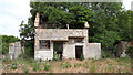 SP1703 : Derelict ancillary building, SW site, former RAF Southrop by Vieve Forward