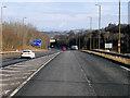 NT1271 : M8/M9 Interchange  near Ratho by David Dixon