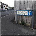 SZ0995 : Moordown: Hillcrest Road by Chris Downer