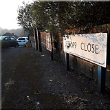 SZ0895 : Redhill: Jessopp Close by Chris Downer