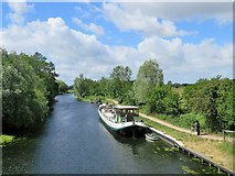 TL5064 : Clayhithe: a view from the bridge by John Sutton