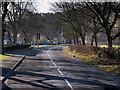 NT1136 : A701 at Broughton by David Dixon