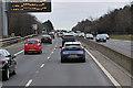 NT2267 : A720 City of Edinburgh Bypass, Matrix Sign near Dreghorn by David Dixon