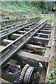 SK3155 : Cromford and High Peak Railway - track by Chris Allen