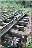 SK3155 : Cromford and High Peak Railway - track by Chris Allen