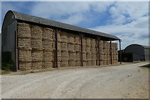 SE7466 : Barn of bales by DS Pugh