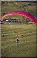 SP3951 : Paraglider on the Burton Dassett Hills by Stephen McKay