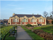 TQ5473 : Dartford Library and Museum by Robin Webster