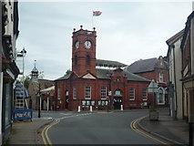 SO2956 : Kington Market Hall by Fabian Musto