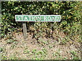 TG1216 : Station Road sign by Adrian Cable