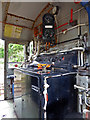 SX5692 : Dartmoor Railway - cab of an 08 diesel electric shunting engine by Chris Allen