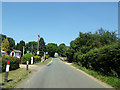 TG1217 : Station Road, Attlebridge by Adrian Cable