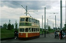 NS5665 : Trams at Glasgow Garden Festival, 1988 – 5 by Alan Murray-Rust