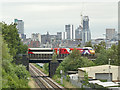 SE2732 : LNER train approaching Leeds by Stephen Craven