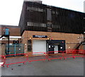 ST2995 : House of Fraser loading bay, Cwmbran town centre by Jaggery
