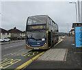 ST3090 : X3 Gold double-decker, Malpas Road, Newport by Jaggery