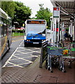 ST2995 : Blackwood bus in Cwmbran bus station by Jaggery
