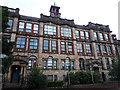 SE2633 : Old School Lofts, Whingate, Armley - details by Stephen Craven