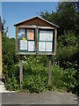TG1318 : Swannington Village Notice Board by Adrian Cable