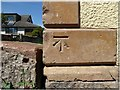 NY2659 : Benchmark, Lowther House, Drumburgh by Adrian Taylor