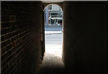 TG2309 : Passage linking Zipfels Court and Magdalen Street by Evelyn Simak