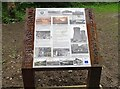NZ0851 : Notice board at the Old Pump House by Robert Graham