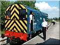 SO6302 : Lydney Junction Station - class 08 shunting engine by Chris Allen