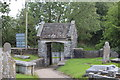 SO1600 : Lych gate, St Sannan's Church, Bedwellty by M J Roscoe